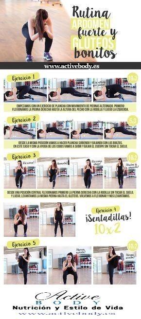 Rutina Abdomen fuerte y glúteos bonitos. En Active Body en Santiago de Composte…