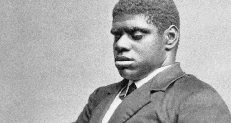 "In 1858, the 1st Black pianist to win national fame was Thomas Greene Bethune, or ""Blind Tom"" (1849-1908). Born a blind slave near Columbus, GA, his talent as a composer & a pianist was soon recognized by Colonel Bethune; who purchased him in 1850. The child prodigy made his debut in Savannah, GA & for over 40 yrs amazed his audiences ""with his artistry & his gift for total recall"" of the more than 700 pieces that he played."