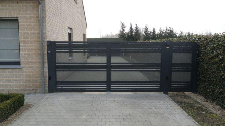 Automatische draaioort met vast hek in aluminium Glenfiddich Kwai   Metallooks