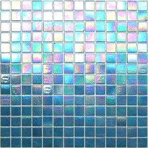 Iridescent tile