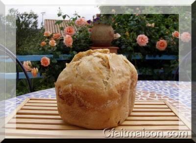 Recette de pain au levain de kéfir d'eau fait en MàP.