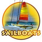 Sailboats in Panama City Beach - sailboat rental $69/hour - up to 4 people