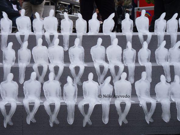 """Mininum Monument"" -Nèle Azevedo, Amsterdam, Olanda 2010"