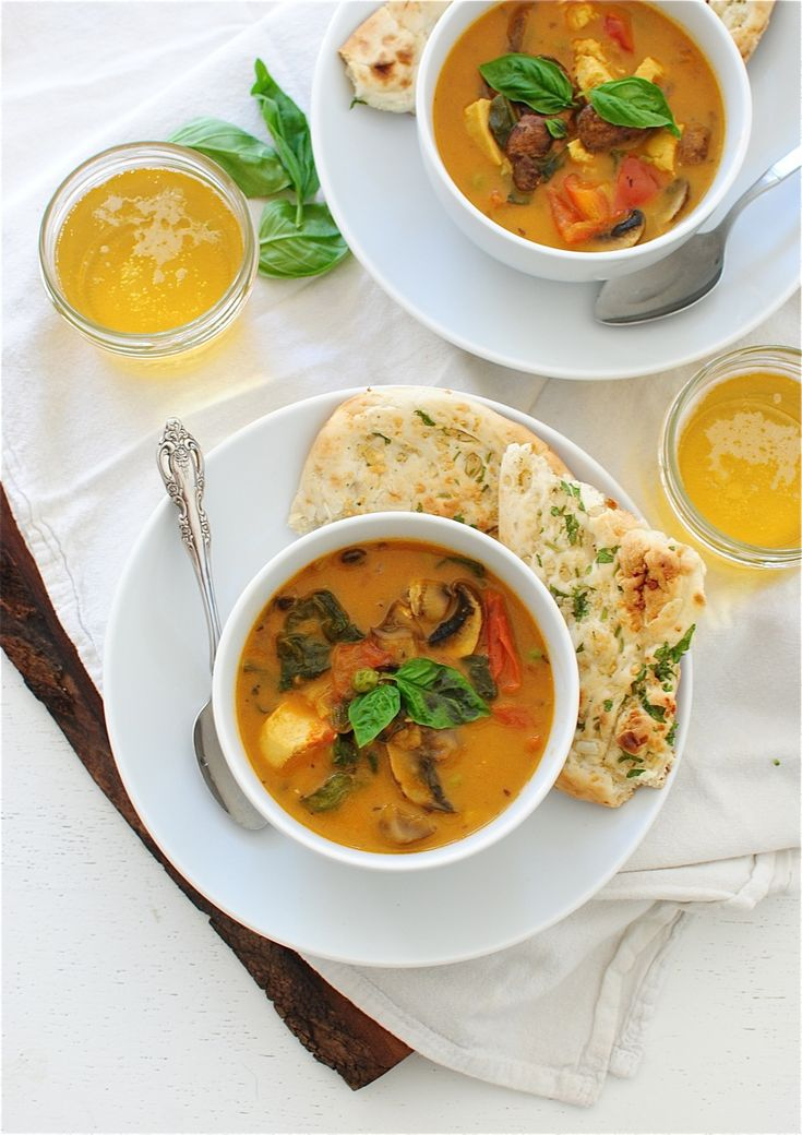 Weeknight Indian Chicken Soup