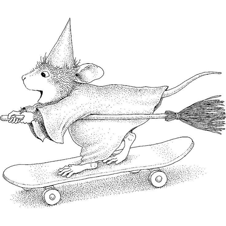 house mouse designs coloring pages - photo#21