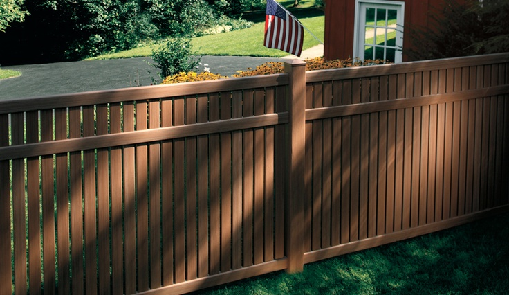 Sierra Blend Semi Private Vinyl Fence Vinyl Fences