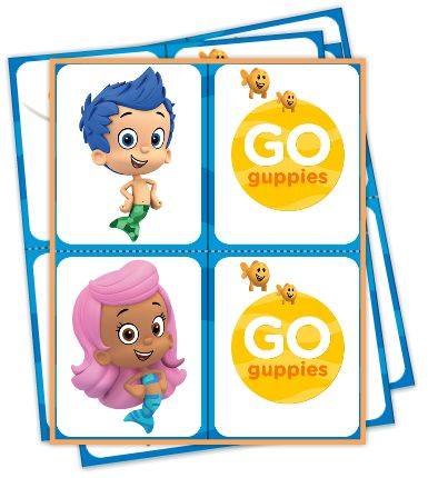 Bubble Guppies Go Fish Game