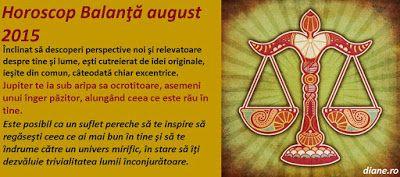 diane.ro: Horoscop Balanţă august 2015