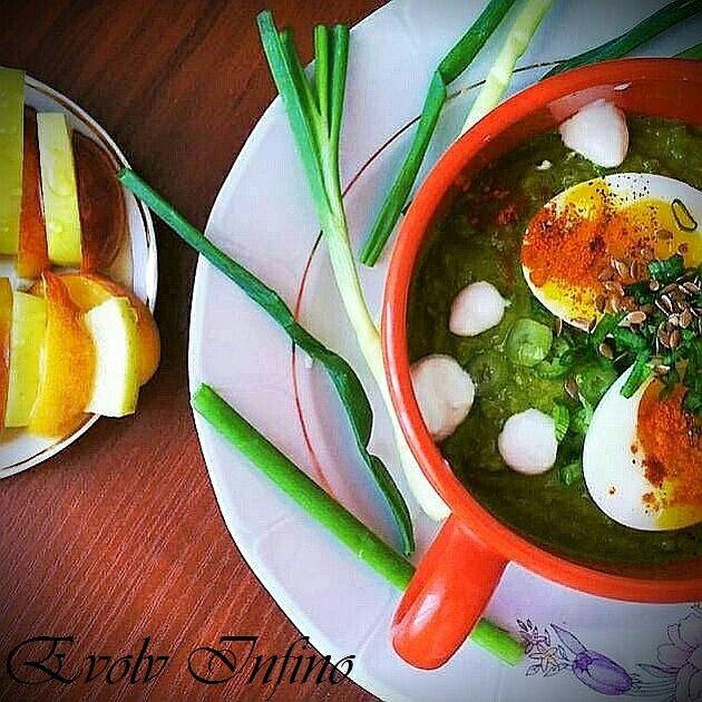 Meal Idea - Spinach & Eggs.