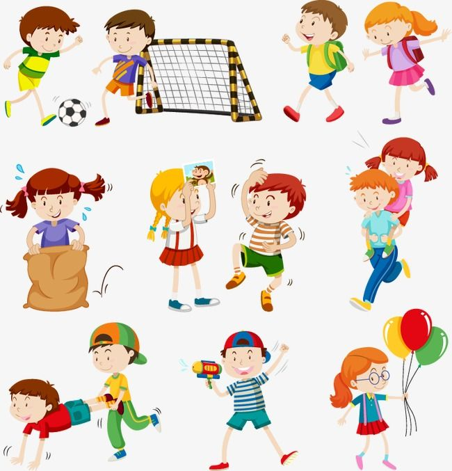Sport Children Children Clipart Cartoon Child Flat Flat Graphics Png And Vector With Transparent Background For Free Download Kids Clipart Kids Playing Activities