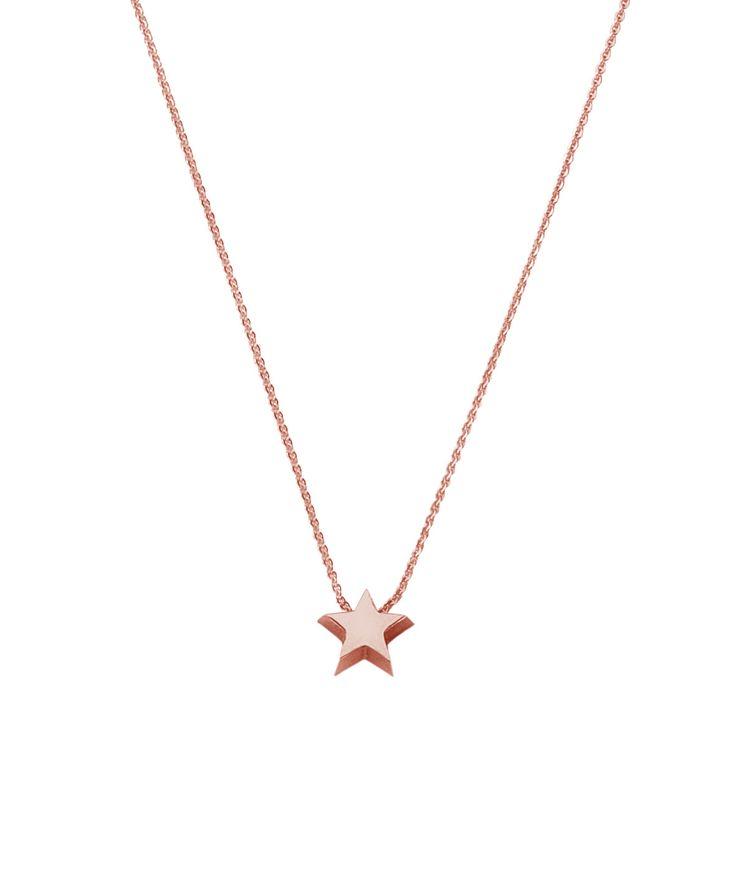 Joy de la Luz initial collier 14K gold | star roségold