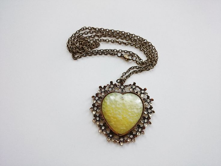 Geschenke für Frauen - Halskette-Herz - ein Designerstück von atelier-house-decor bei DaWanda
