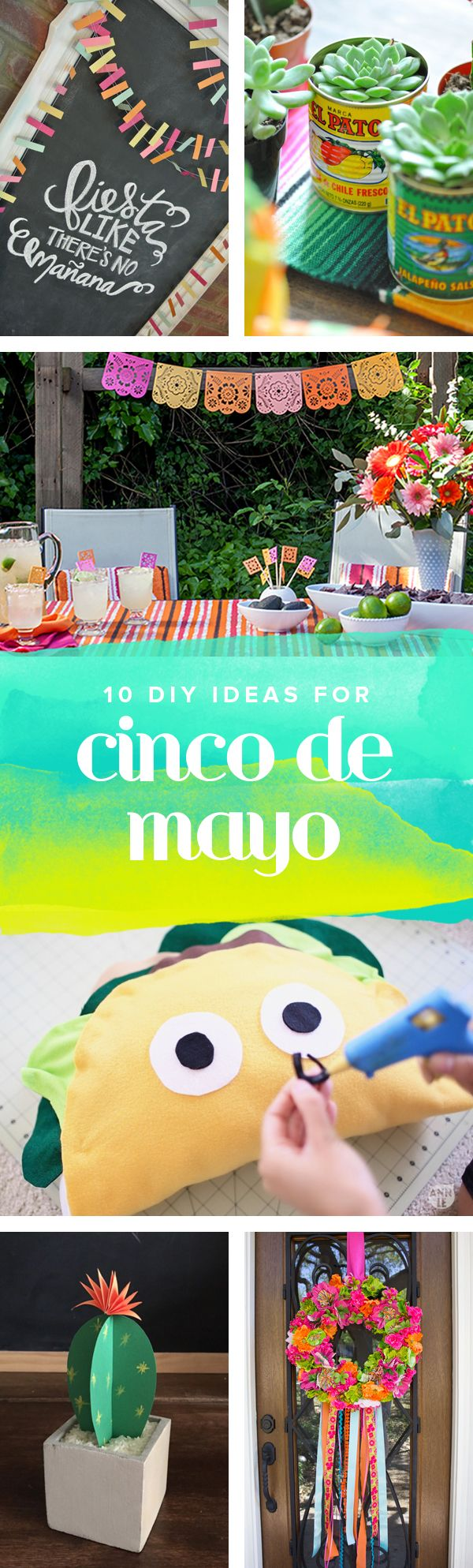 10 Cinco de Mayo decorations for your fabulous fiesta478 best DIY   CRAFTS images on Pinterest   Diy beauty  Beauty  . Fun Crafts For Your Home. Home Design Ideas