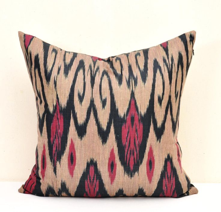 Throw Ikat Pillow, Ikat Pillows, Throw pillow, Ikat Pillow Cover, Ikat Cushion, Designer pillow, Decorative Pillow, Ikat Cushion Cover by DecorIkatPillows on Etsy https://www.etsy.com/listing/263548342/throw-ikat-pillow-ikat-pillows-throw
