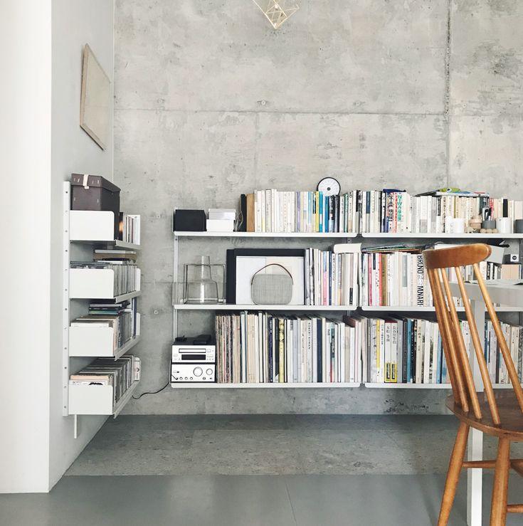 A Wall Mount System Fixes To The Wall Via Aluminium E
