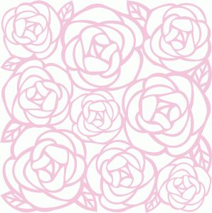 Silhouette Design Store - View Design #47033: dear lizzy - rose filigree paper