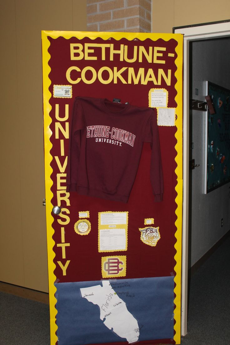 Classroom Decoration Ideas For Competition ~ Teachers at crockett jr high held a college door