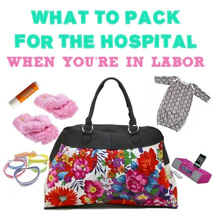 Kandeeland: What's In Your Labor Bag?!?