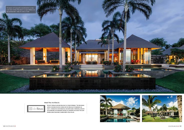 Cocotraie Issue 15 Kauhale Kai - Hawaii designed by deReus Architects