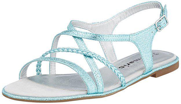 Tamaris Damen 28129 Slingback Sandalen: Schuhe Damen