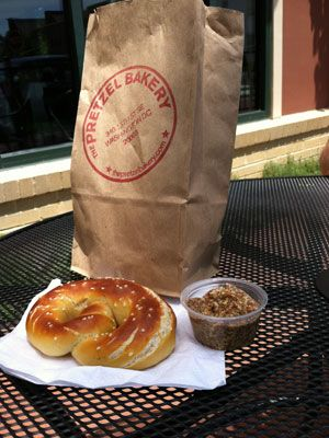 Pretzel bakery at 340 15th St., SE open Wed - Sunday -- are they really like Philly soft pretzels??