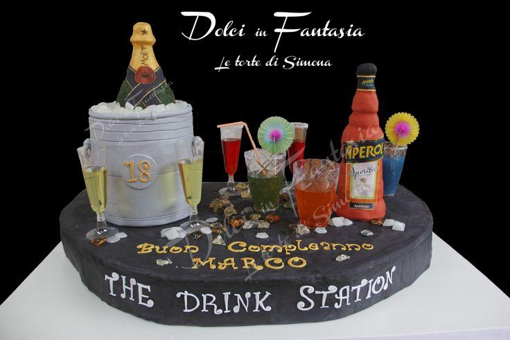 barman cake - the drink station #barman #drinkstation