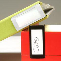 side binder labels