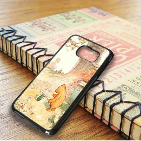 Winnie The Pooh Classic Samsung Galaxy S6 Edge Plus Case