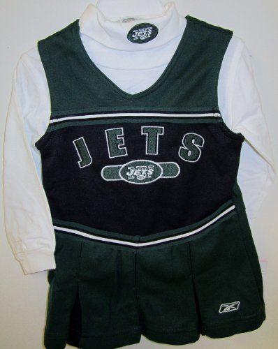 New York Jets Cheerleader Costume