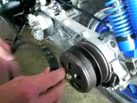 How To Change Moped Scooter Drive Belt CVT - http://www.thehowto.info/how-to-change-moped-scooter-drive-belt-cvt/