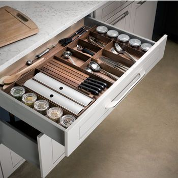 Rev A Shelf, Hafele, Knape U0026 Vogt, Omega National Products Drawer Inserts  And Organizers At Cabinet Accessories Unlimited