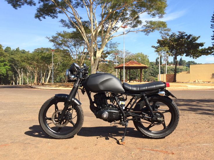 Suzuki Yes EN125 Cafe Racer / Bratstyle Suzuki Thunder 125cc