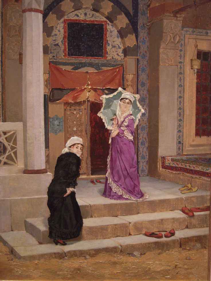 painting by Osman Hamdi Bey