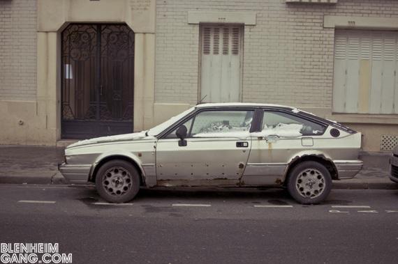Alfa Romeo Alfasud Sprint Grand Prix Paris Lovely Rust Voiture Voitures Anciennes Alfa Romeo