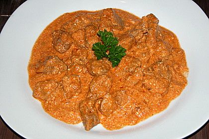 Rahmgulasch aus dem Crock Pot / Slow Cooker 1