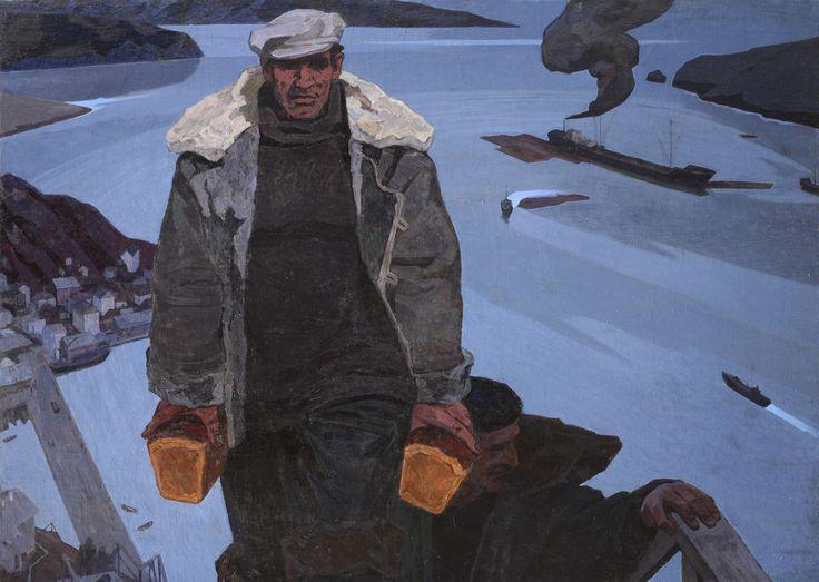 .Михайлов Алексей Сергеевич (1926 – 1993) Белые ночи, 1966-1967