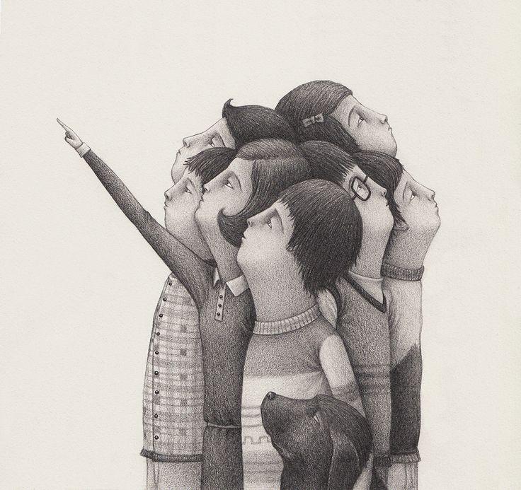 The Black and White Anthropomorphic Illustrations of David Álvarez