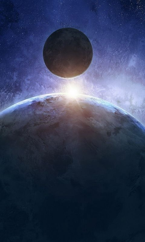 Download Wallpaper 480x800 Planet, Space, Sci-fi HTC, Samsung Galaxy S2/2, Ace 480x800 HD Background