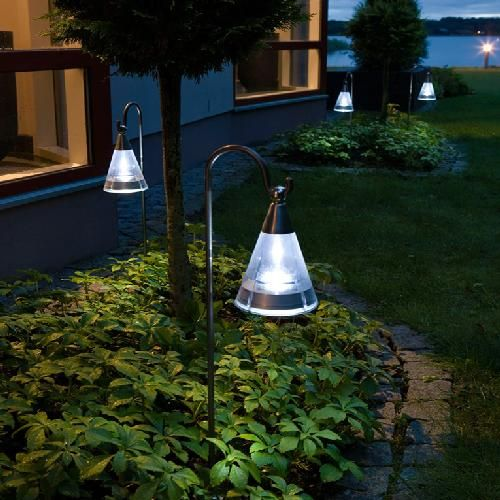 solar patio lights For the Home Pinterest