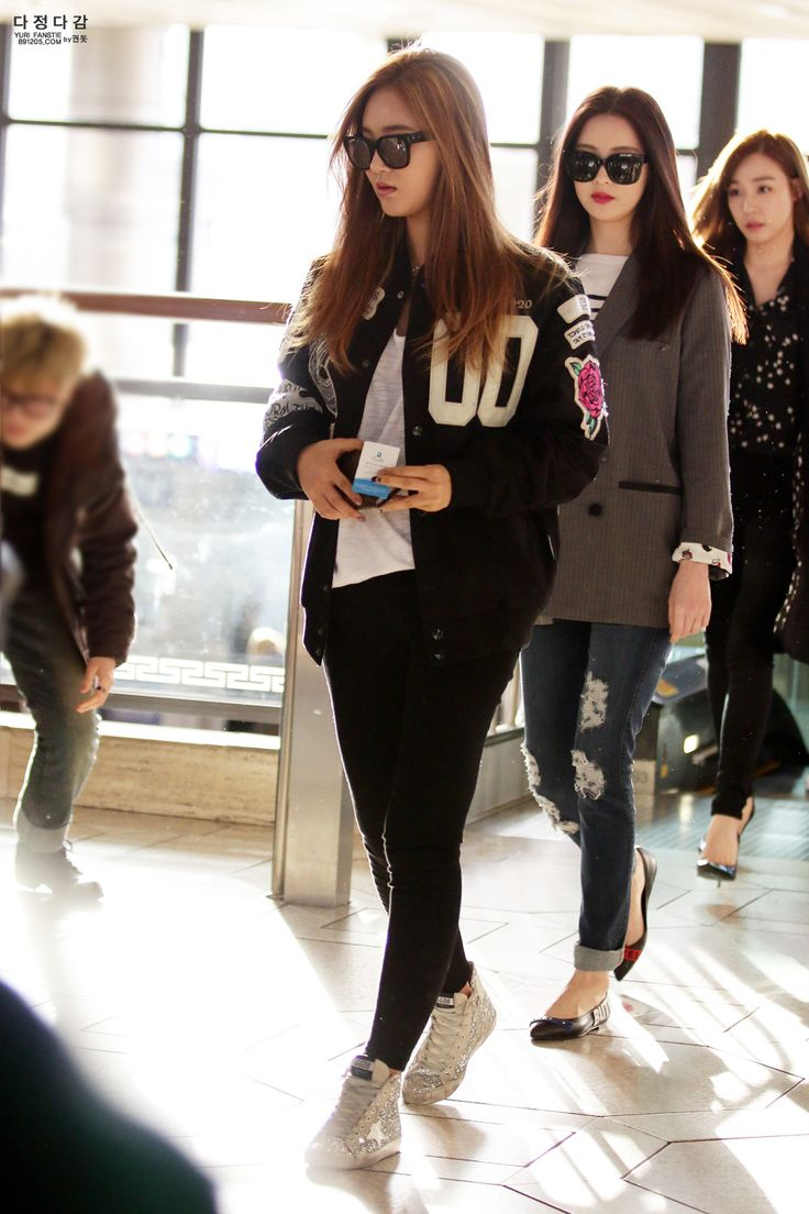 Yuri airport fashion
