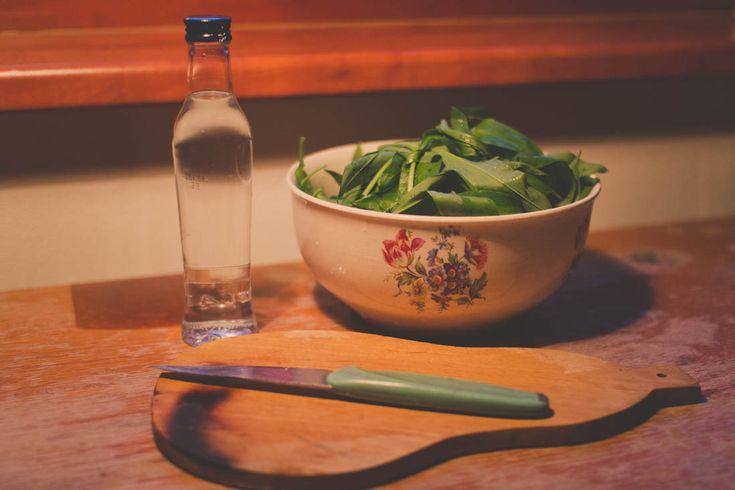 Wild garlic preparation