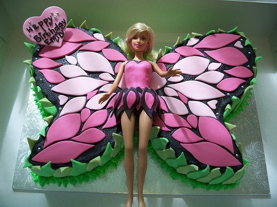 Holidays & Events - birthday ideas - easy fairy cake