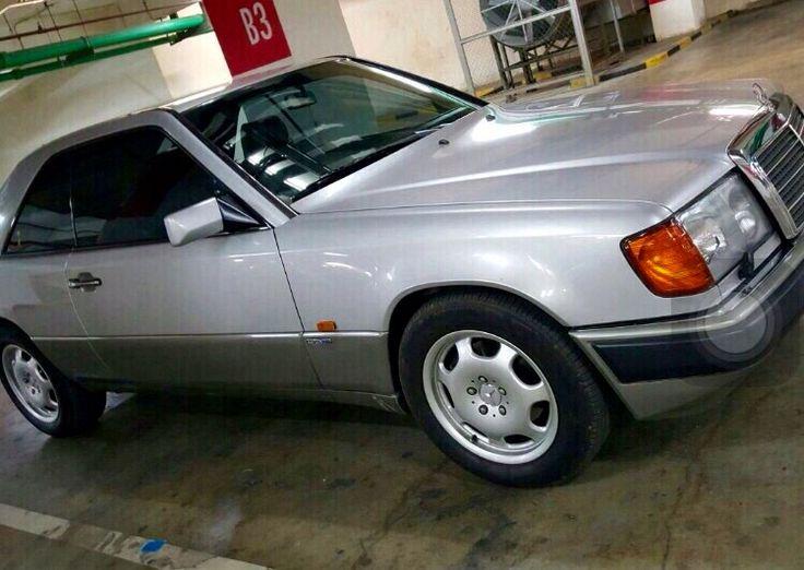 1991 Original Silver 300CE 24v Benz  Visit on audinwest.blogspot.com