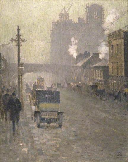 Oxford Road, Manchester Adolphe Valette