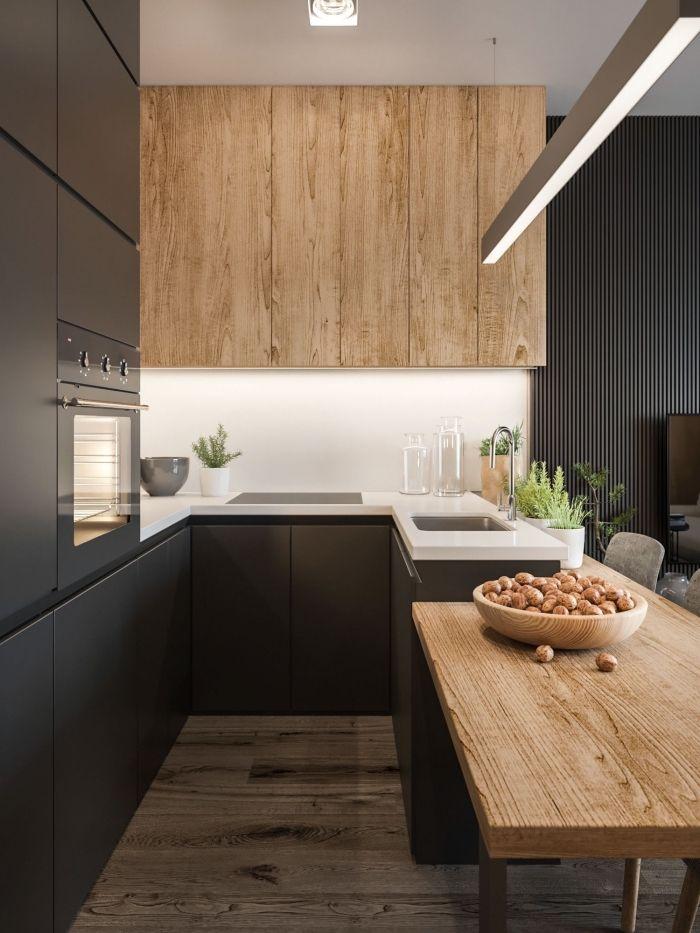 ▷ 1001 + exemples pharamineux de la cuisine en bois | Home ...