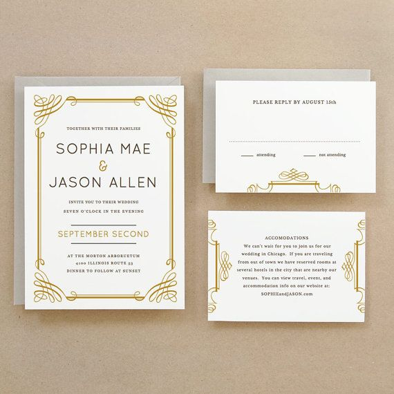 Instant Download  Classic  DIY Printable Wedding by SwellAndGrand, $25.00