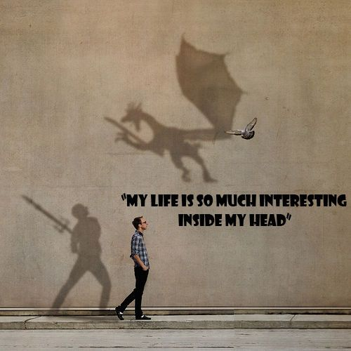 My Life Is So Much Interesting Inside My Head