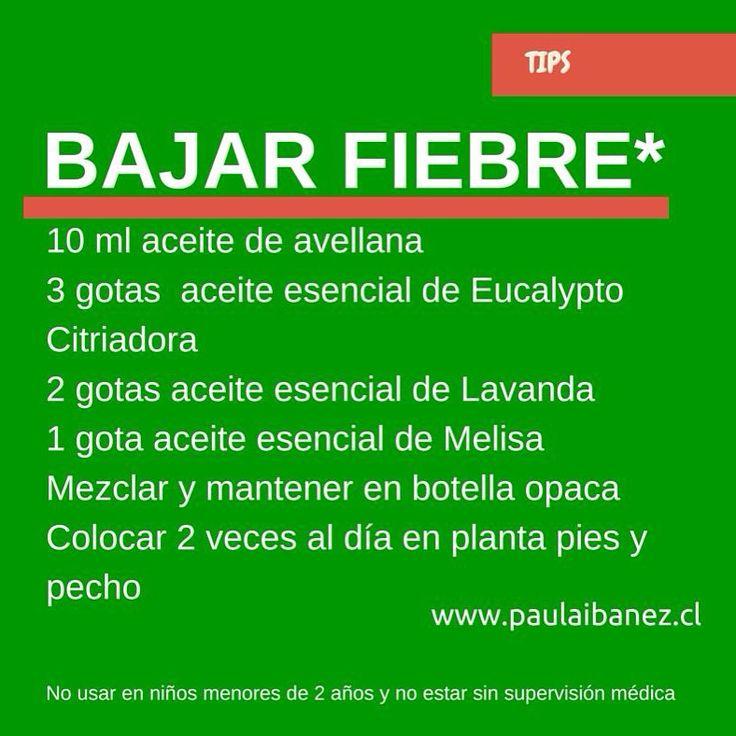#fiebre #aceitesesenciales #natural