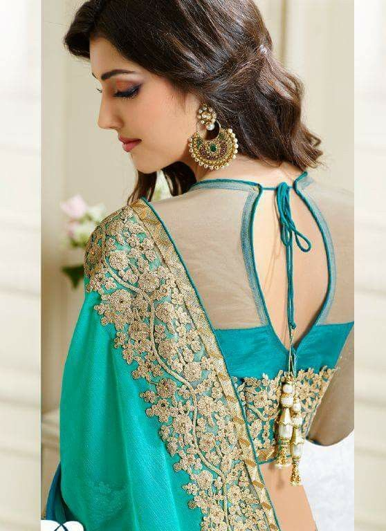 1000+ Ideas About Blouse Back Neck Designs On Pinterest | Saree Blouse Blouse Designs And Saree
