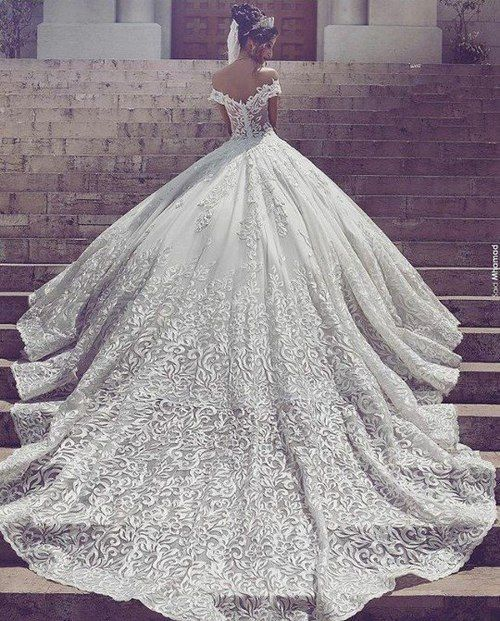 Imagen de dress, wedding, and wedding dress
